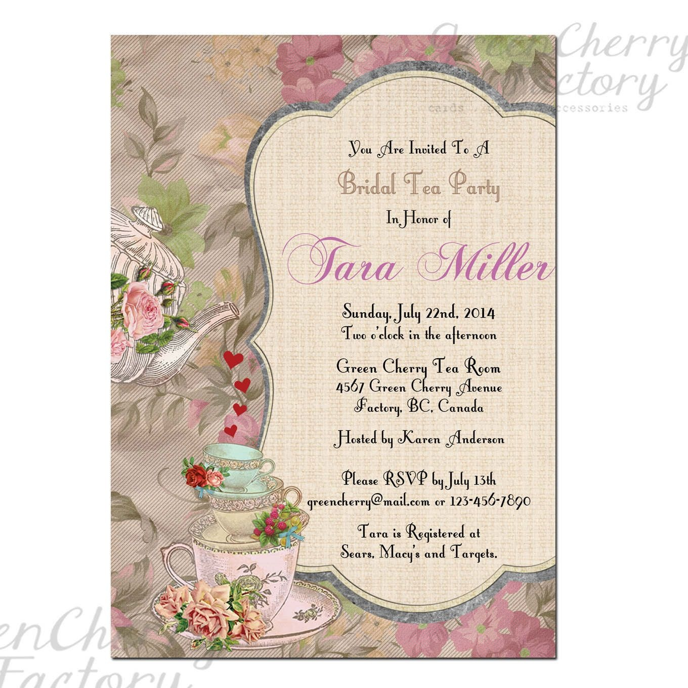 Event Invitation Card Template Free Awesome Free Christmas Party - Free Printable Kitchen Tea Invitation Templates