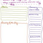 Exclusive Free Printables | Journal Ideas | Kids Travel Journal   Free Printable Walking Log