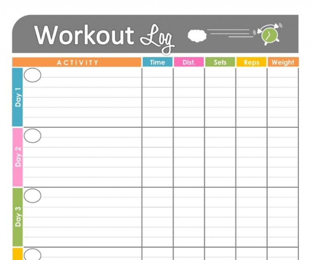 Exercise Tracker Chart - Kaza.psstech.co - Free Printable Walking Log