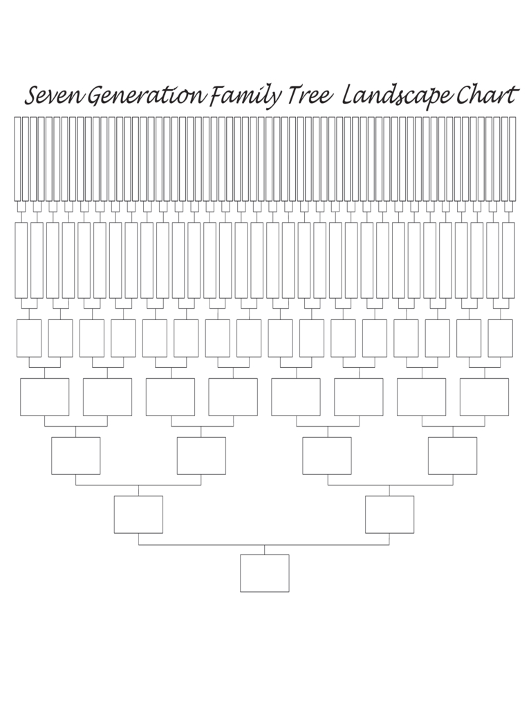 Family Tree Template - 8 Free Templates In Pdf, Word, Excel Download - Free Printable Family Tree Charts