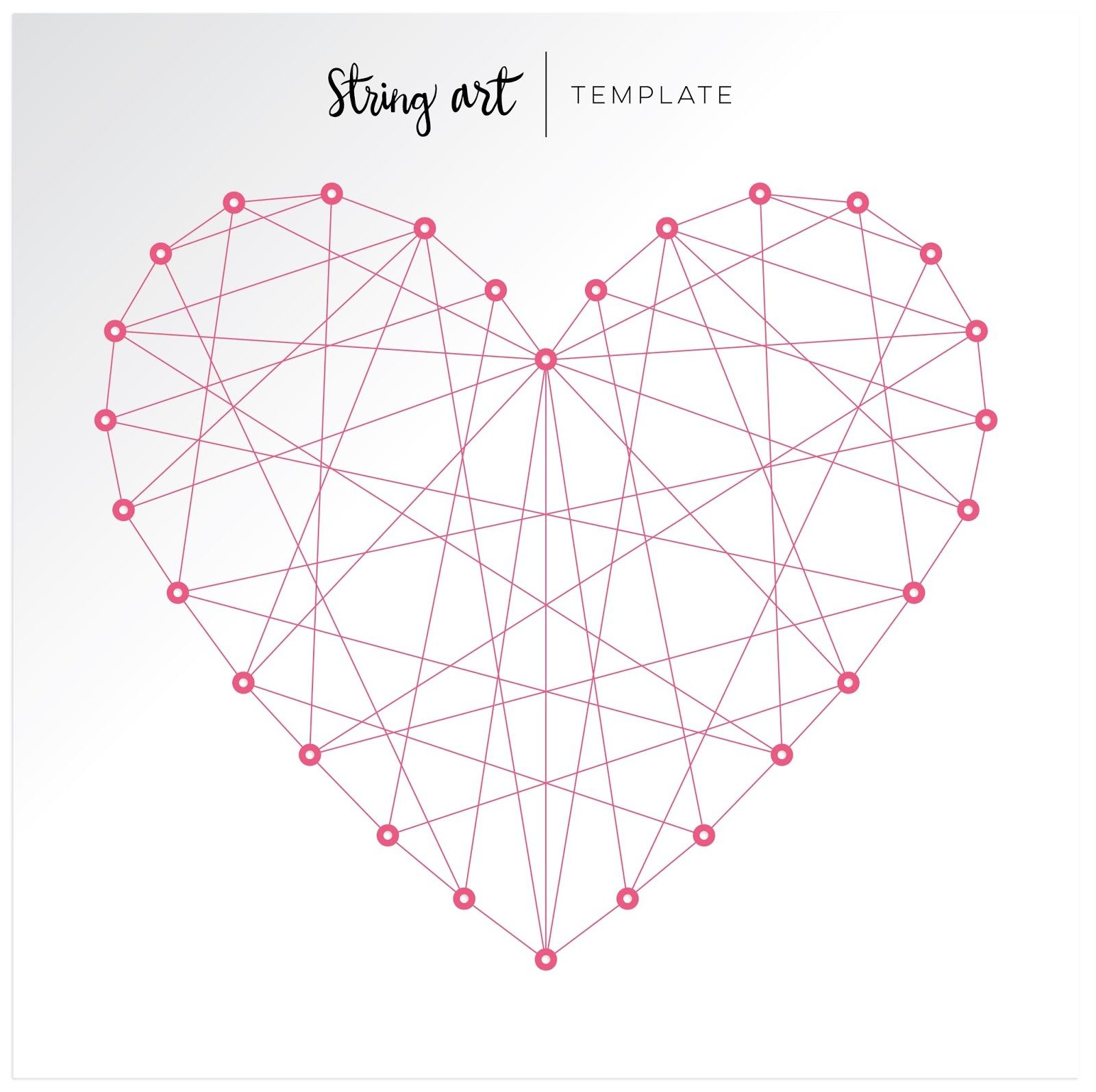 Fancy Freepaige Evans | Flipbook | String Art Templates, String - Free Printable String Art Patterns With Instructions