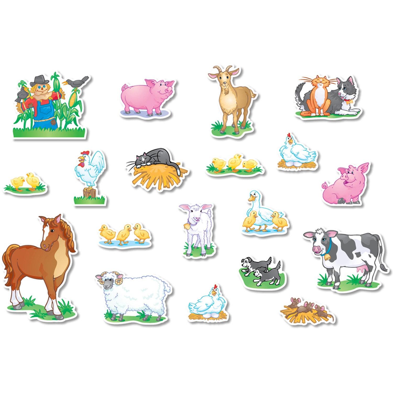 Farm Animals Cut Outs - Tutlin.psstech.co - Free Printable Farm Animal Cutouts