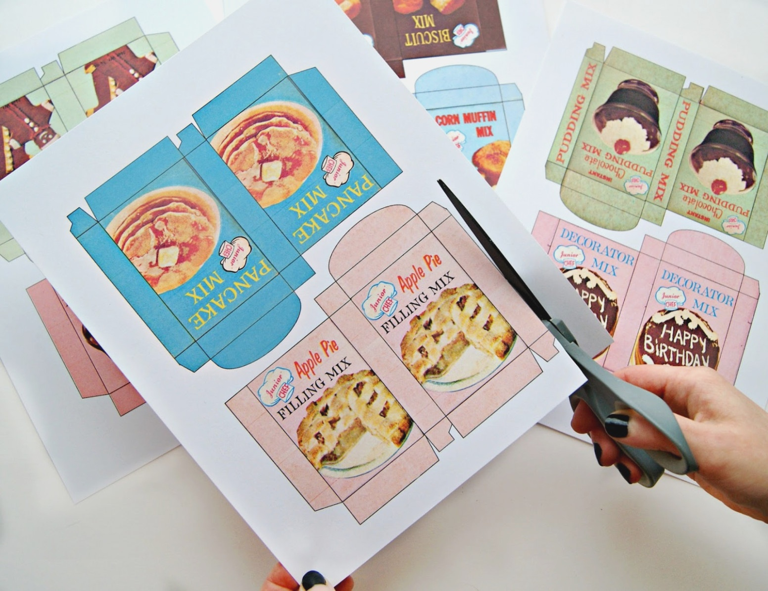 Fast – Free Printable Play Food Labels – Label Maker Ideas - Free Printable Play Food Labels
