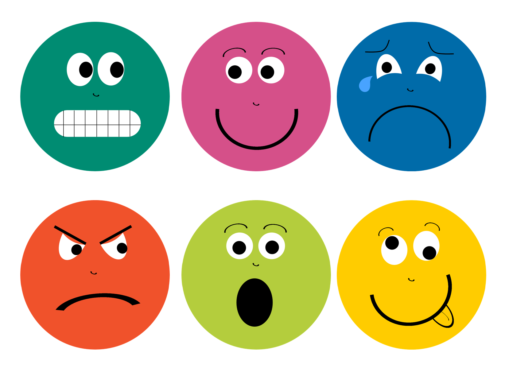 Feelings Faces Printable | Library | Feelings Preschool, Emotions - Free Printable Sad Faces