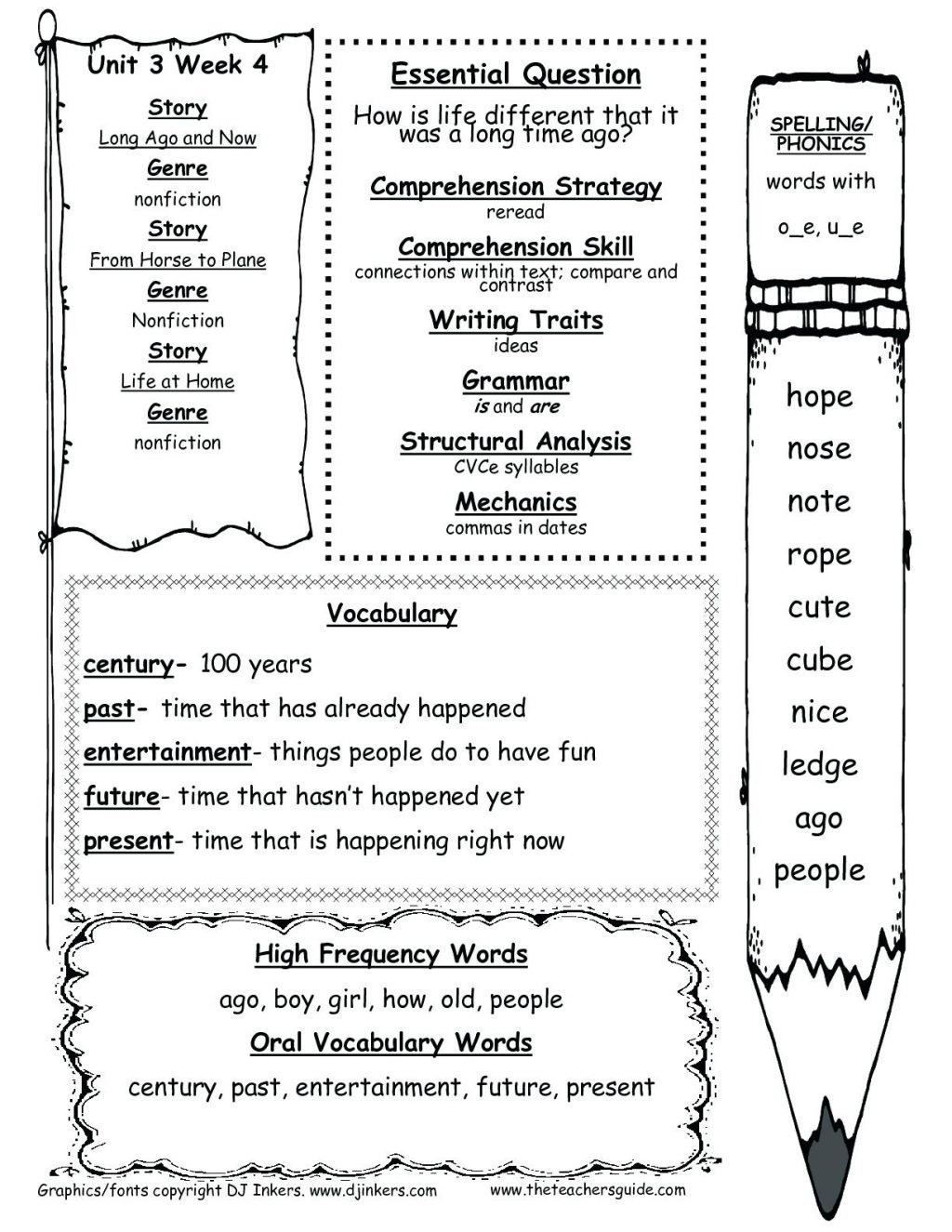First Grade Reading Worksheets Free Printable Wonders Unit Three - Free Printable First Grade Worksheets
