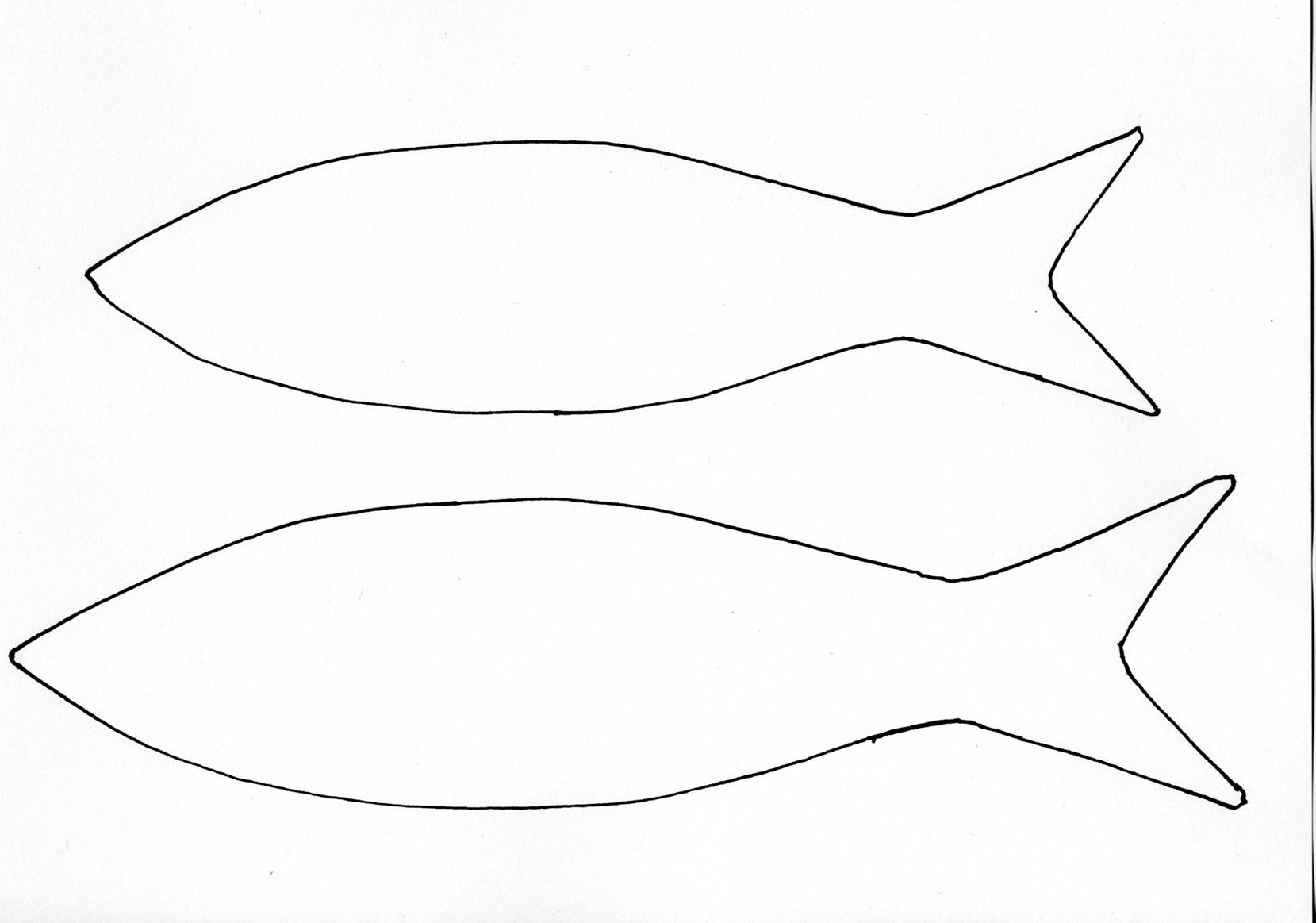 Fish Cutout Template | Fish Template Others Templates That Are - Free Printable Fish Stencils