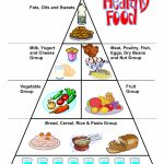 Food Worksheets, Cut & Paste Activities, Food Pyramid | Print   Free Printable Food Pyramid