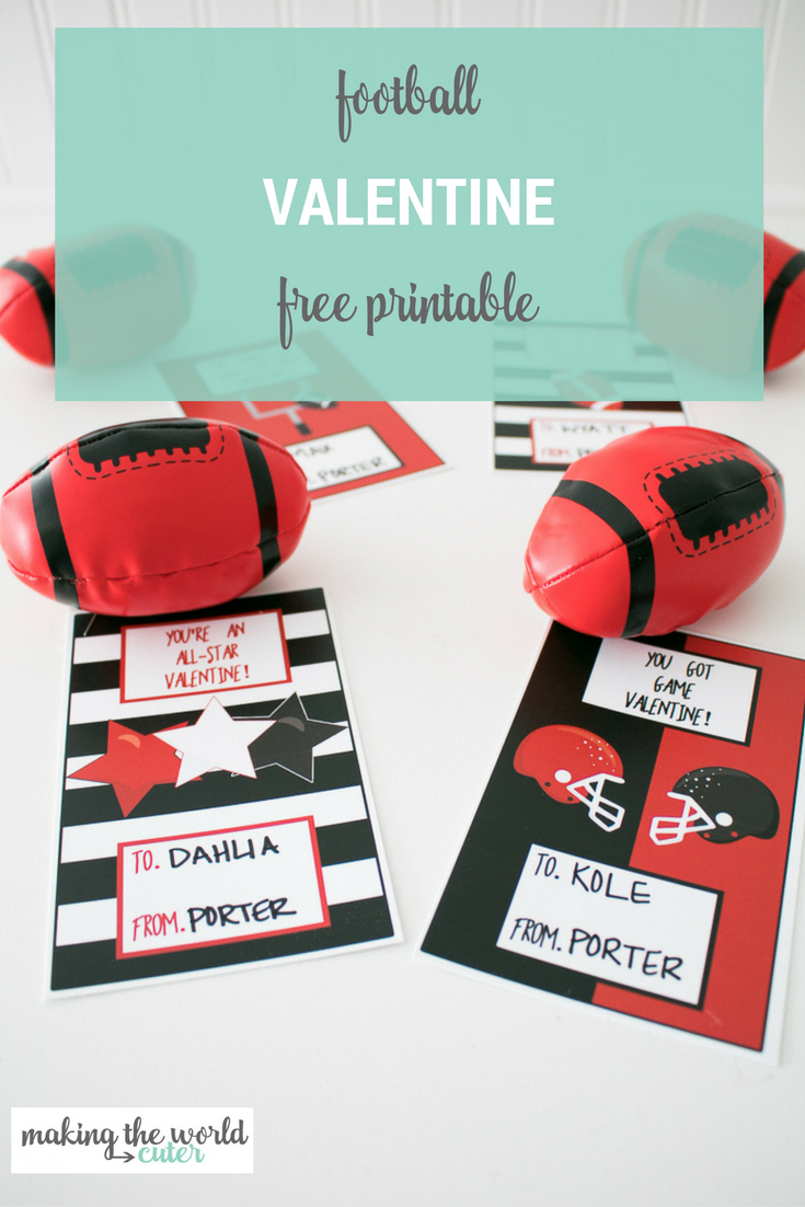 Football Valentine Cards | Holiday: Be Mine! | Valentine's Cards For - Free Printable Football Valentines Day Cards