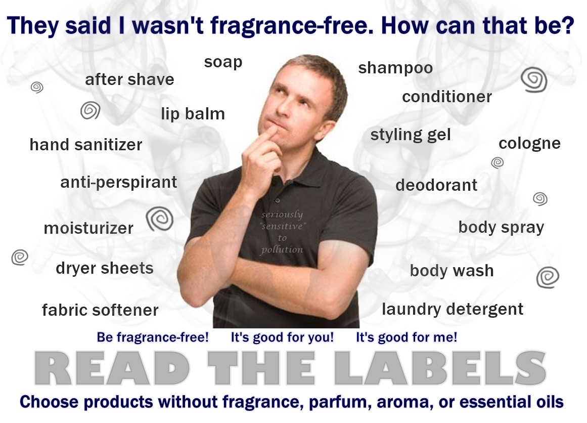 "Fragrance-Free Signs | Seriously ""sensitive"" To Pollution - Free Printable Fragrance Free Signs"