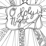 Free Adult Coloring Page Printable   Christmas — Clumsy Crafter   Free Printable Bible Christmas Coloring Pages
