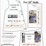 Free #agdoll Summer Shirt Pattern @ Chellywood #sewing 4#dolls   American Girl Clothes Patterns Free Printable