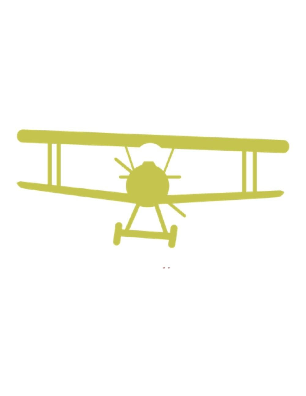 Free Air Themed Printables   Printables   Airplane Silhouette - Free Printable Airplane Template