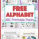 Free Alphabet Abc Printable Packs   Fun With Mama   Free Printable Early Childhood Activities