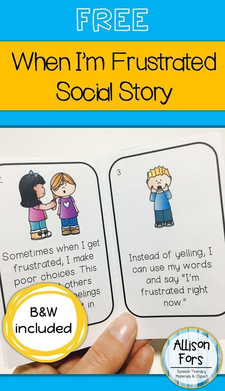 Free Behavior Social Story | Language Games Galore | Social Stories - Free Printable Social Stories Making Friends