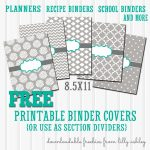 Free Binder Covers Printable Set | Preschool | Teacher Binder Covers   Free Printable Binder Covers And Spines