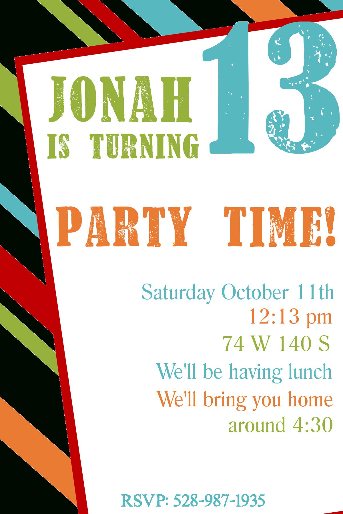 Free Boy Birthday Invitation Templates - Demir.iso-Consulting.co - 21St Birthday Invitation Templates Free Printable