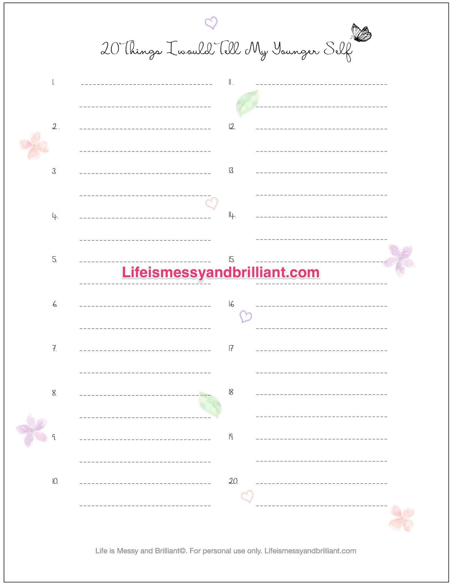 Free Bullet Journal Printables | Drawing | Bullet Journal Printables - Free Printable Journal Templates