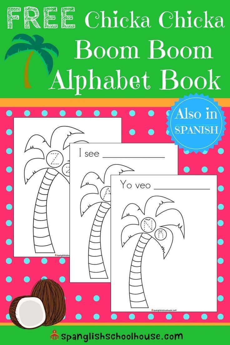 Free Chicka Chicka Boom Boom Printable Alphabet Book | Educational - Free Printable Spanish Books
