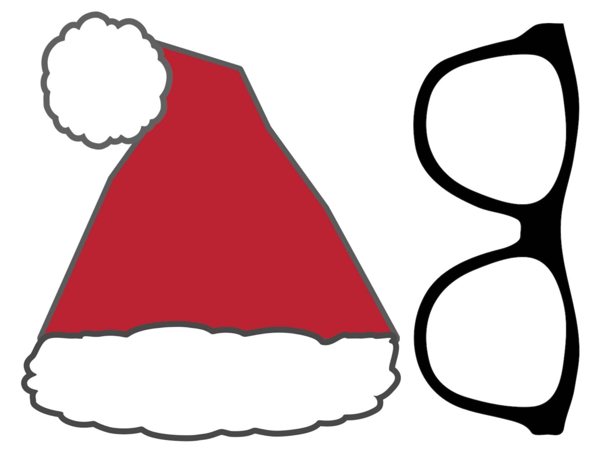 Free Christmas Photo Booth Props Printable - Paper Trail Design - Free Printable Christmas Props