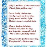 Free Christmas Poems For Children To Recite For Teachers   Christmas   Free Printable Christian Christmas Poems