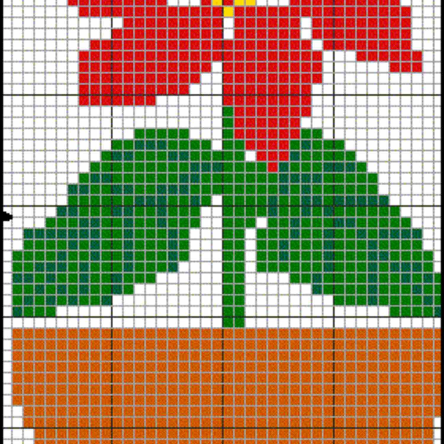Free Christmas Themed Cross Stitch Patterns - Printable Plastic Canvas Patterns Free Online