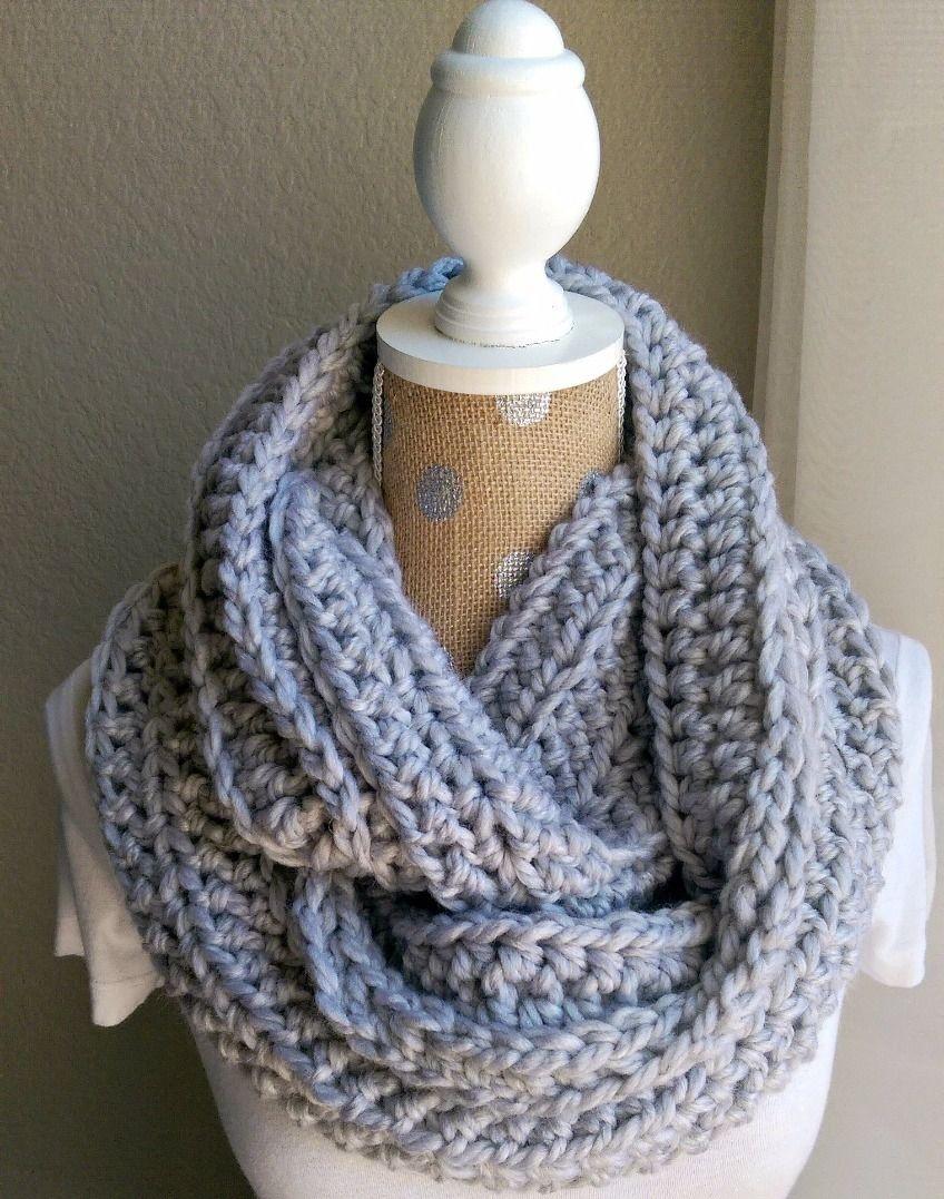 Free Chunky Crochet Scarf Pattern   Crochet And Knitting   Chunky - Free Printable Crochet Scarf Patterns