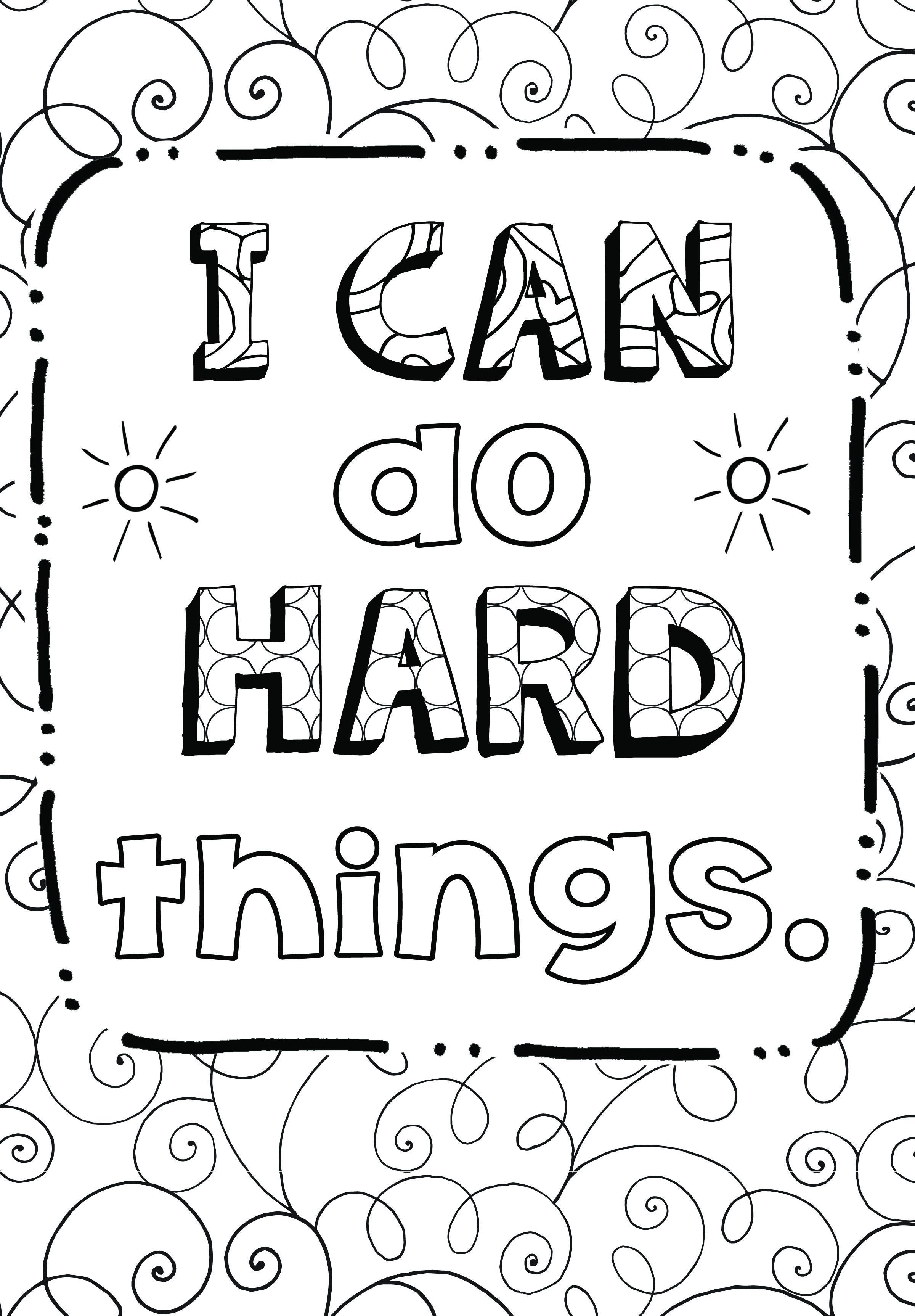 Free Coloring Page: Growth Mindset | Teaching Art Simplified - Free Coloring Pages Com Printable