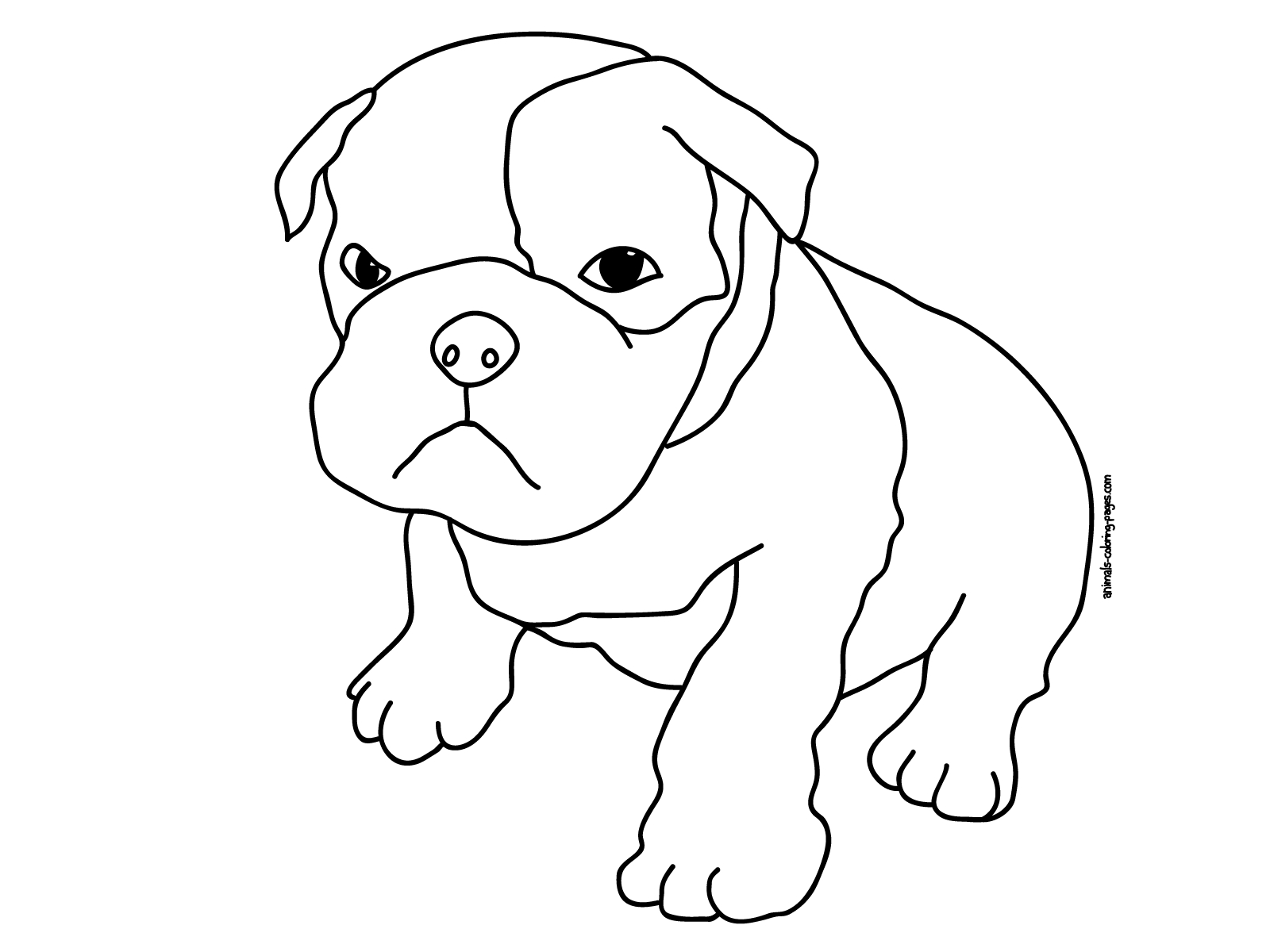 Free Coloring Pages Of Eyed Animals | Sewing | Dog Coloring Page - Colouring Pages Dogs Free Printable