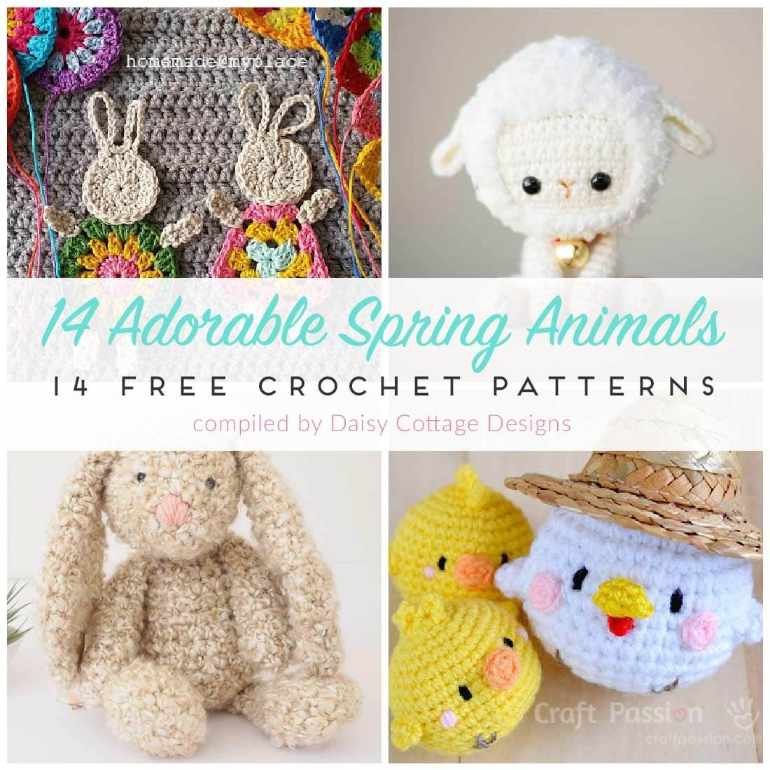 Free Crochet Patterns For Spring - Daisy Cottage Designs - Free Printable Crochet Patterns