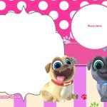 Free Disney Puppy Dog Pals Invitation Templates | Free Printable   Free Printable Puppy Dog Birthday Invitations