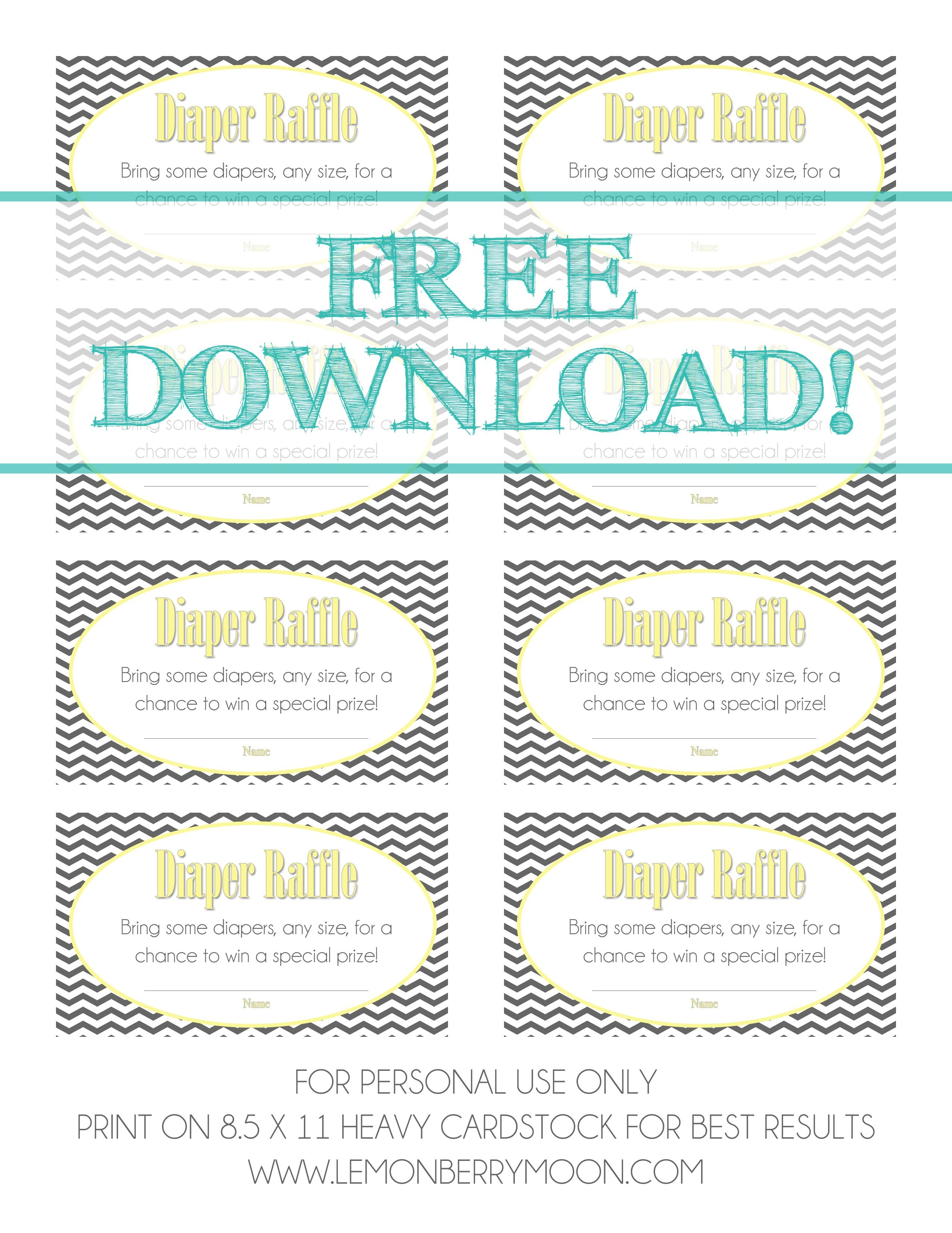Free Download - Baby Diaper Raffle Template   Baby Boy Shower   Baby - Free Printable Diaper Raffle Tickets For Boy Baby Shower