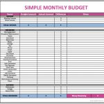 Free Download Household Budget Spreadsheet Monthly Finances Family   Free Printable Monthly Household Budget Sheet