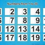 Free Download Printable Numbers 1 20   Free Printables   Free Printable Numbers 1 20
