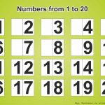 Free Download Printable Page With Numbers 1 20   Free Printables   Free Printable Numbers 1 20