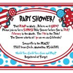 Free Dr.seuss Baby Shower Invitation   Psd | Free Printable   Dr Seuss Free Printable Templates