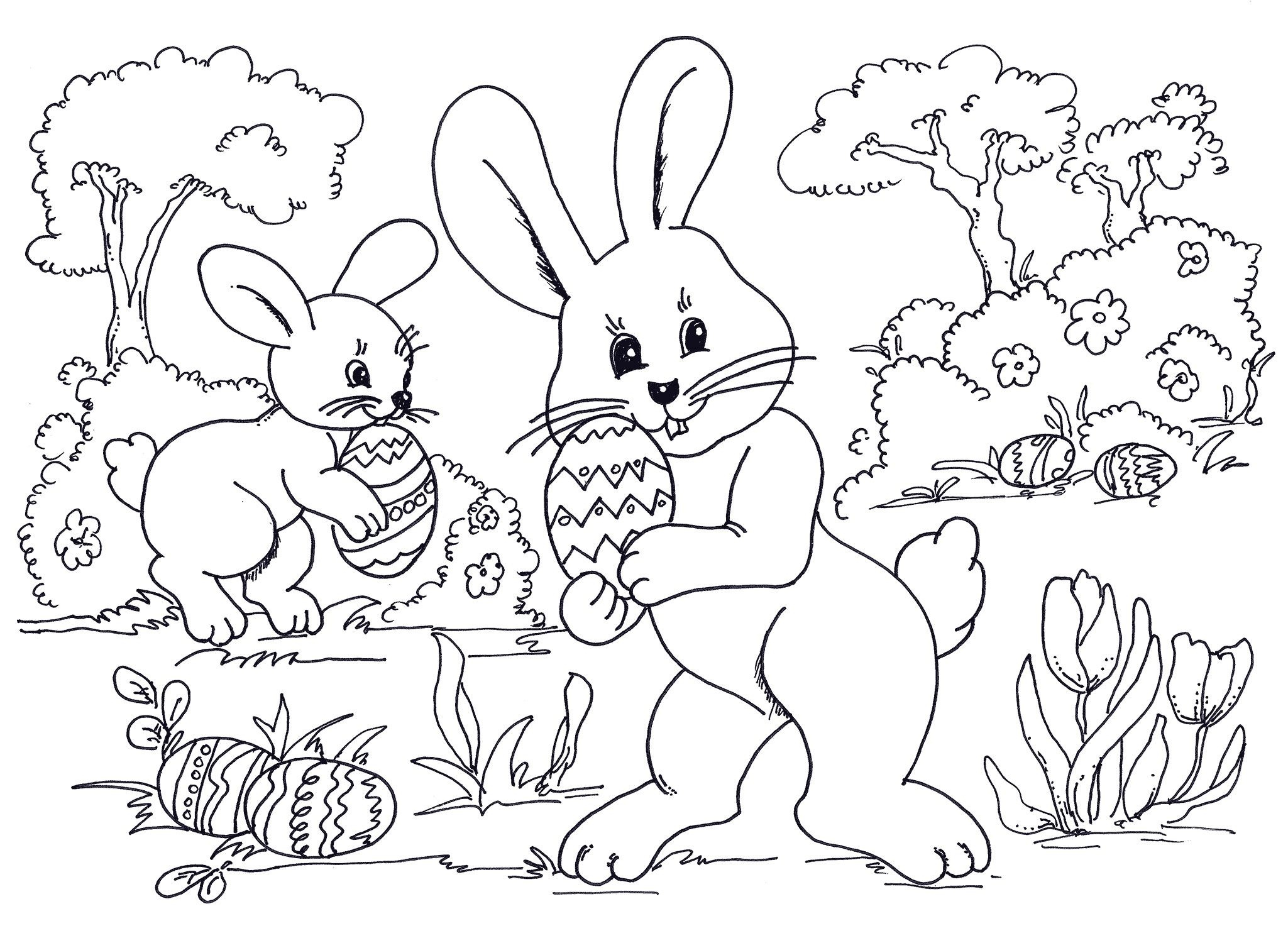 Free Easter Coloring Pages Best Within Happy | Easter Pics To Colour - Free Easter Color Pages Printable