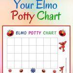 Free Elmo Potty Training Chart | Family | Potty Training Reward   Free Printable Potty Charts