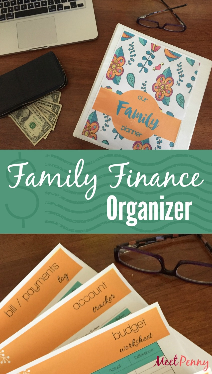 Free Family Finance Binder Printables - Meet Penny - Free Printable Financial Binder