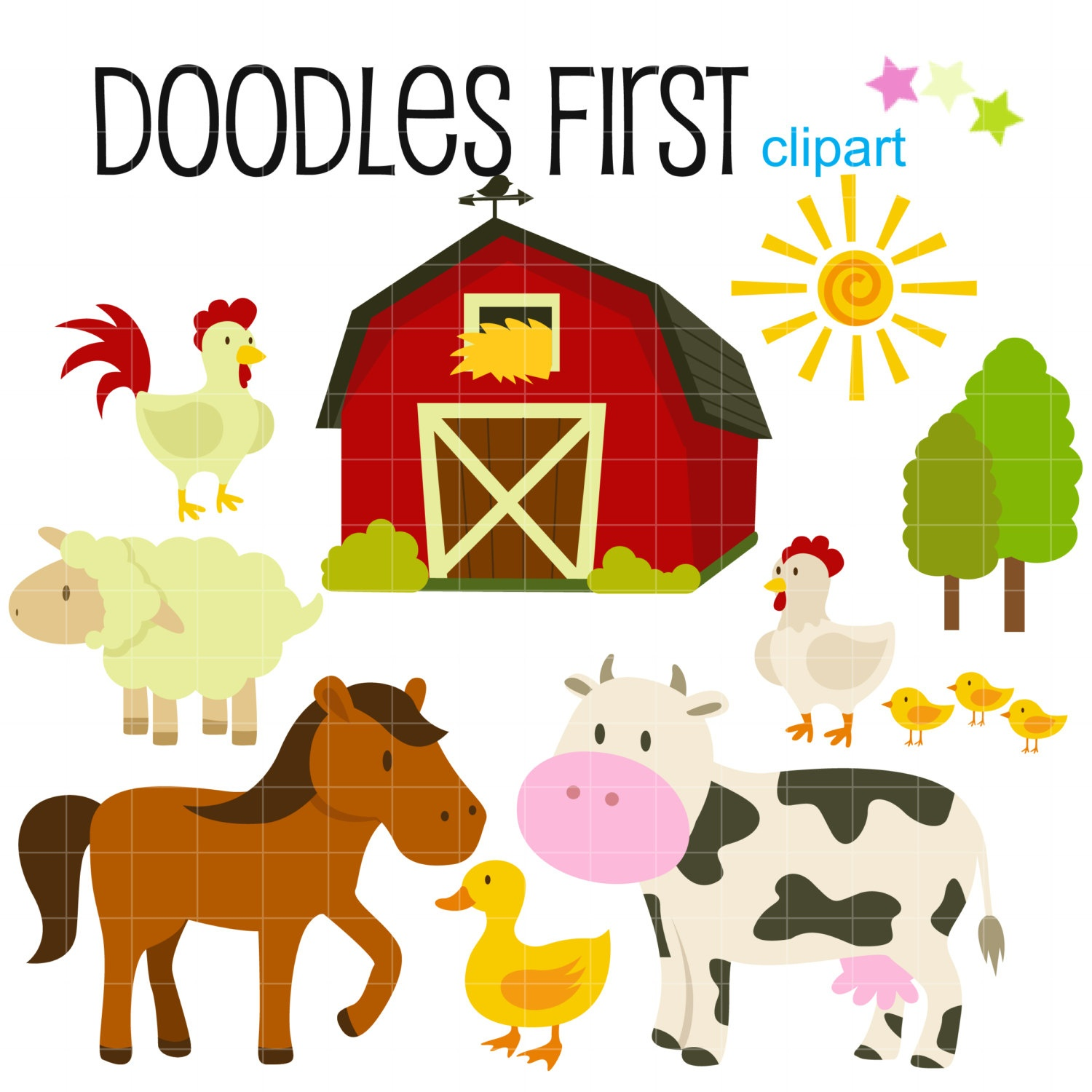 Free Farm Party Cliparts, Download Free Clip Art, Free Clip Art On - Free Printable Farm Animal Clipart