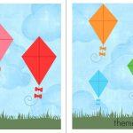 Free File Folder Game For Preschoolers: Kites!   The Measured Mom   Free Printable Preschool Folder Games
