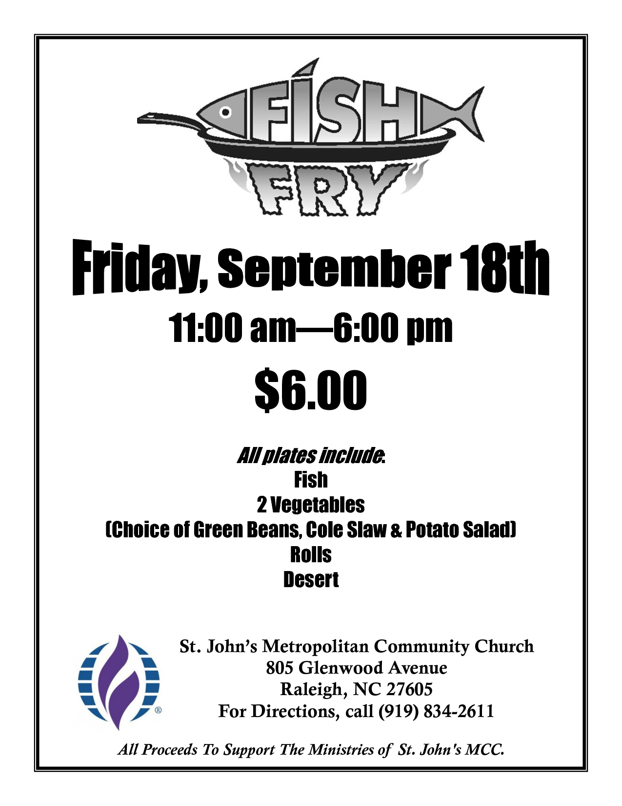 Free Fish-Fry Flyer Templates   Fish Fry Poster   Fish Fry   Fried - Free Printable Flyers For Church