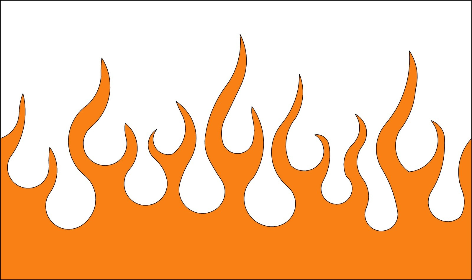 Free Flame Template, Download Free Clip Art, Free Clip Art On - Free Printable Flame Template