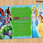 Free Free Printable Superhero Birthday Invitations | Bagvania   Free Printable Superhero Birthday Invitation Templates