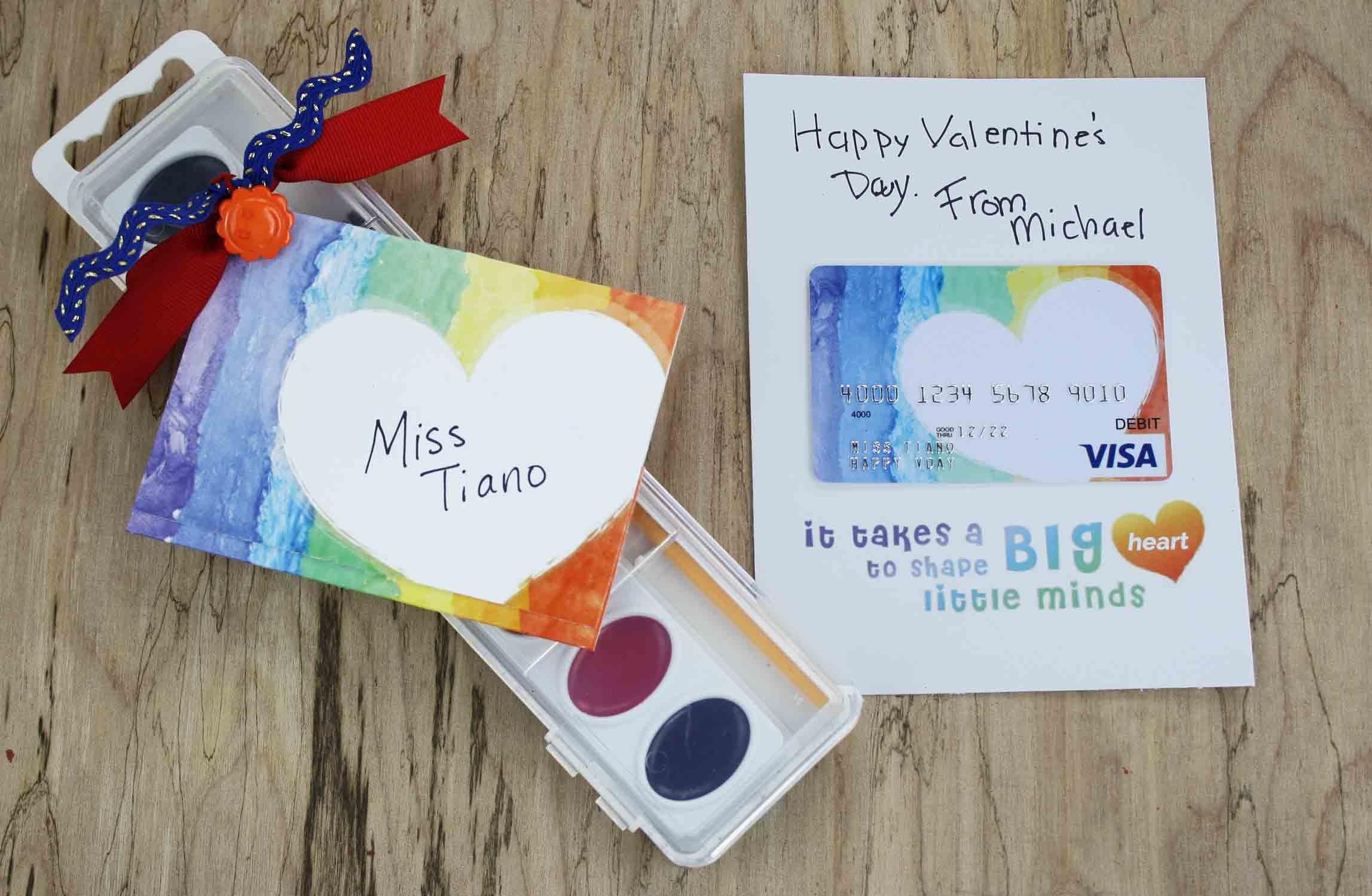 Free Gift Card Printable - Teacher Valentine Gift | Giftcards - Free Printable Teacher's Day Greeting Cards
