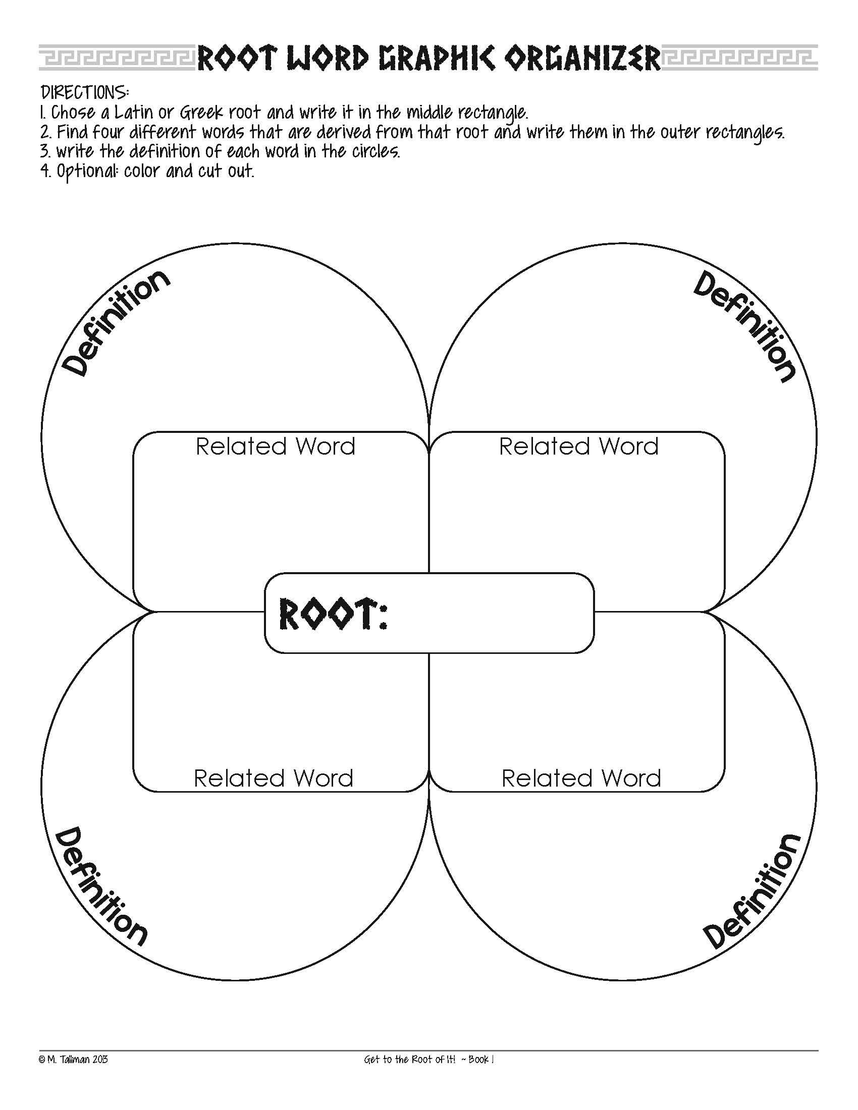 Free Greek And Latin Root Word Activities | Literacy Teaching - Free Printable Greek And Latin Roots