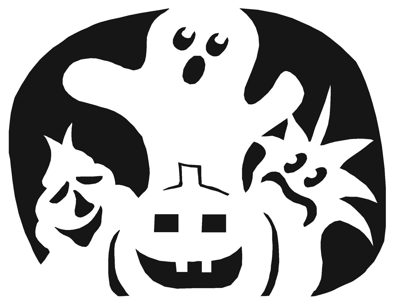 Free Guitar Pumpkin Stencil, Download Free Clip Art, Free Clip Art - Free Pumpkin Printable Carving Patterns
