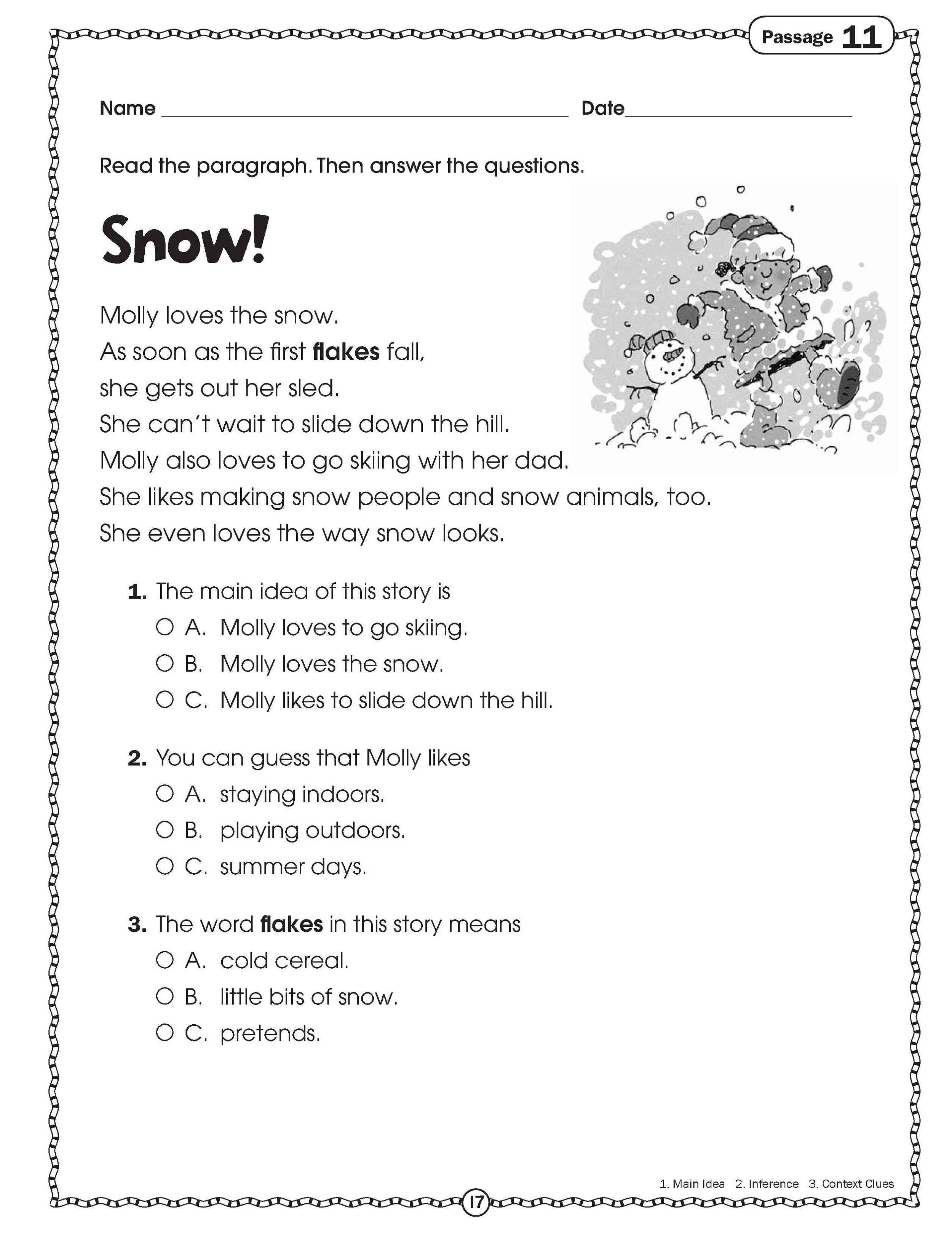 Free Handouts Reading | Learning Printable | Kids Worksheets ...