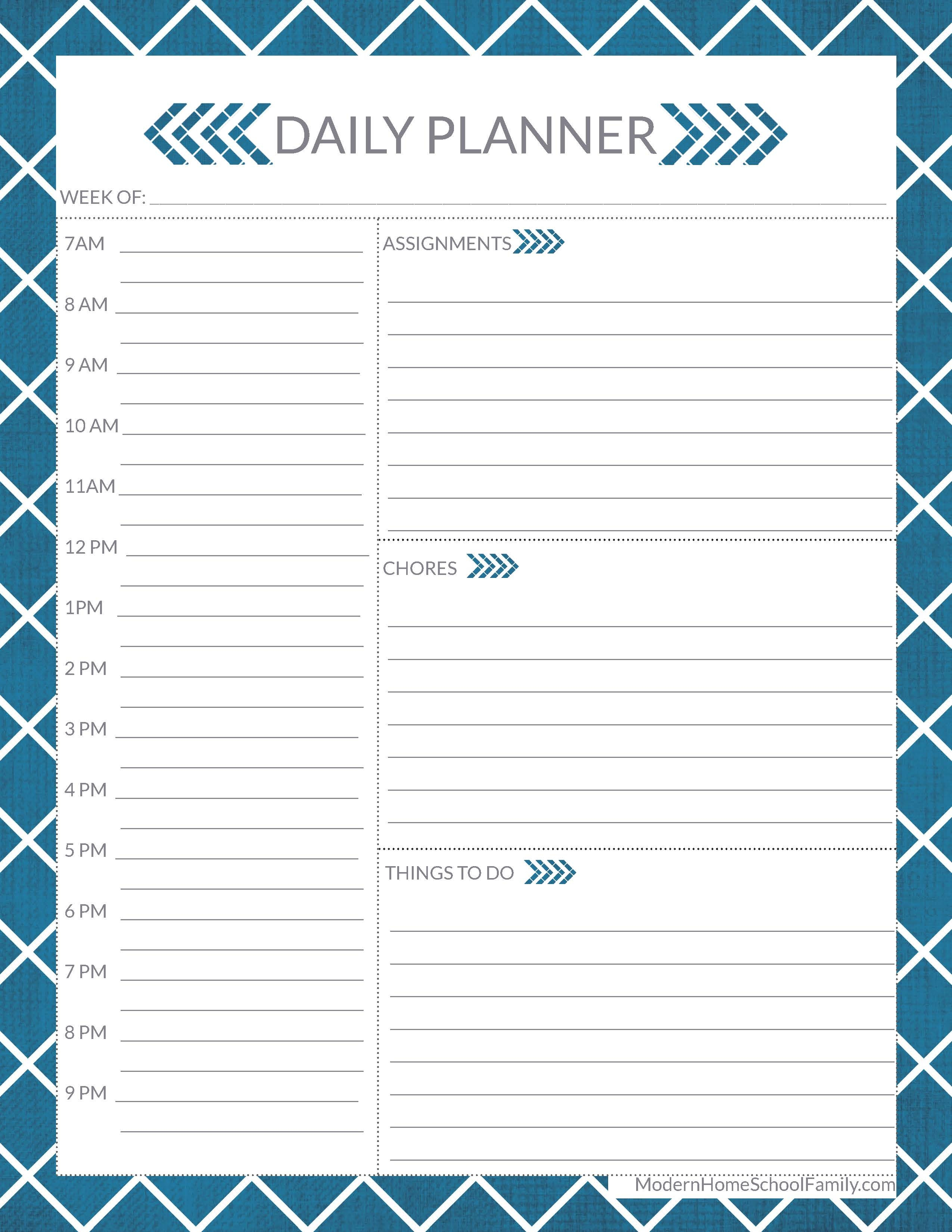 Free Homeschool Planner For High School Page - Modern Homeschool Family - Free Homeschool Printable Worksheets