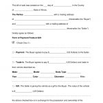 Free Illinois Bill Of Sale Forms   Word | Pdf | Eforms – Free   Free Printable Vehicle Bill Of Sale