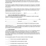 Free Living Will Forms (Advance Directive)   Medical Poa   Pdf   Free Printable Advance Directive Form